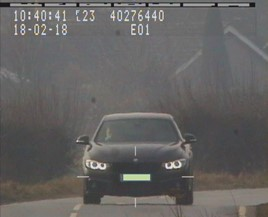 Ferrari car dealer Nicholas Burke equipped his BMW 335d with a speed camera jamming device