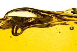 Bubbles in oil