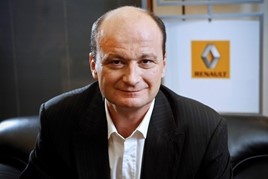 Olivier Murguet, executive vice-president of Groupe Renault's sales and regions division