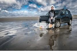 Jeep backs Andrew Cotton