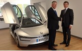 Marriott Motor Group takes delivery of the Volkswagen XL1