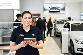 Stephen James BMW's store at Bluewater shopping centre, Kent