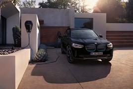 The new BMW iX3 electric vehicle (EV) SUV