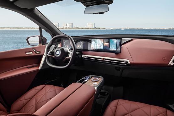 Inside the BMW iX EV