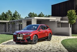 BMW's forthcoming fully-electric iX SUV