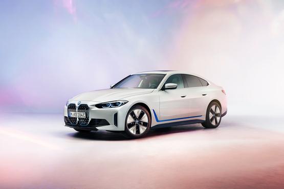 BMW's new i4 electric vehicle (EV)