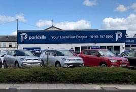 Parkhills Car Centre's new Ssangyong Motors UK franchise in Bury