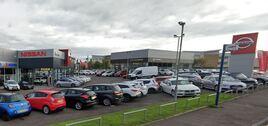 The Park's Motor Group Nissan dealership in Irvine