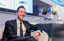Paul Stevens brand director Bugatti London