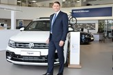 Alan Day Volkswagen managing director Paul Tanner