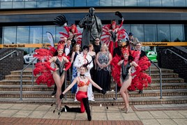 Jardine Motors Group's Hollywood-themed 2017 charity ball took place at Wolverhampton Wanderers' Molineux Stadium
