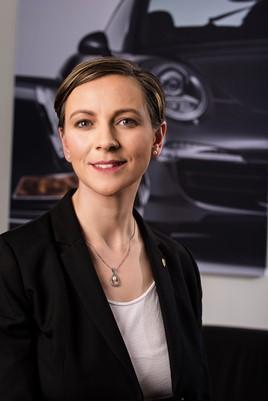 Margareta Mahlstedt, general manager, Marketing Porsche GB