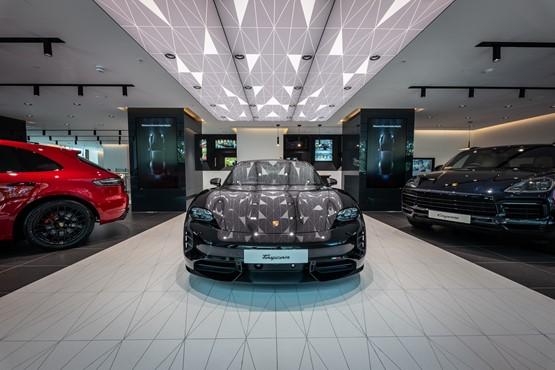 Inside Porsche Retail Group's 795sq-m Porsche Studio in Mayfair, London