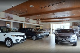 Pendragon Jaguar Land Rover dealership in Santa Monica, USA