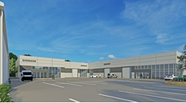 "Artist's impressions of Penton Motor Group's planned £2.5 million ""retail hub"" in Christchurch"