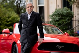 Peoples Ford chairman Brian Gilda