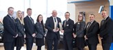 Winning team: BMW UK Dealer of the Year, Peter Vardy BMW Edinburgh