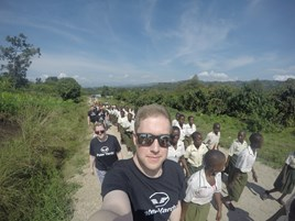A team from Peter Vardy visited Uganda in October, 2016