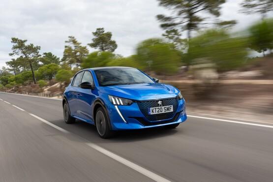 Peugeot's new e-208 EV