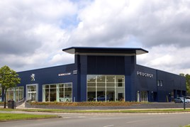 Peugeot Robins and Day dealership