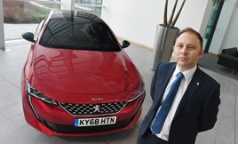 Steven Wass Peugeot UK