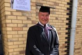 Graduated: Stoke Audi head of business Phil Jones