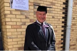 Graduated: Stoke Audi head of business Phil Jones