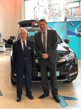 Phil Webb & Mr Bickerstaff Newton Honda
