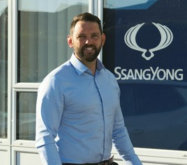 Phill Sargent, regional aftersales manager for the south of England and Wales, at SsangYong