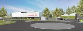 Porsche Centre Perth drawing