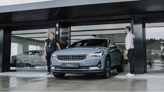 Delivery of the first customer Polestar 2 sale was completed last month
