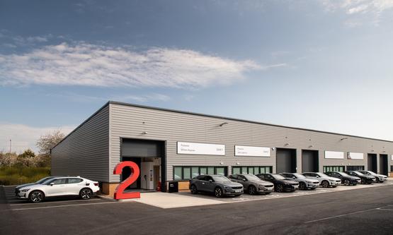Polestar's EV test drive facility in Milton Keynes