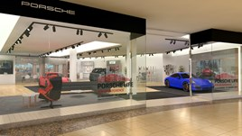 Jardine's Porsche pop-up store at Bluewater
