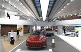 Artists' impression: Pendragon's new Porsche Centre on the outskirts of Nottingham