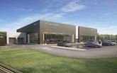 Sytner's planned Guy Salmon Portsmouth Jaguar Land Rover Arch Concept dealership