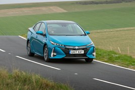 Leading the low CO2 emissions charge: Toyota's Prius Plug-In hybrid PHEV