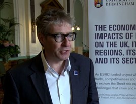 David Bailey, senior fellow at The UK in a Changing Europe and professor of business economics at Birmingham Business School