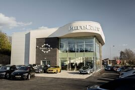 The new Pure Cars showroom un Wakefield
