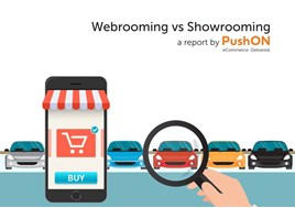 PushON's 'Webrooming vs Showrooming report',