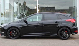 The Quinn family's Ford Focus ST-line