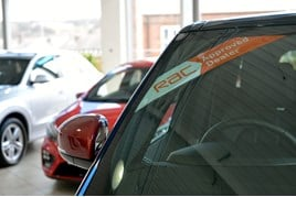 RAC Dealer Network windscreen splash