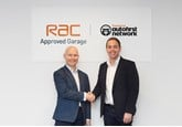 RAC chief executive Dave Hobday and Euro Car Parts chief executive Andy Hamilton