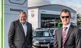Rainworth Motor Group joint MDs, Jon Atherton (left) and Simon Beckett