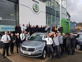 Skoda UK Retailer of the Year, Rainworth Skoda Sheffield