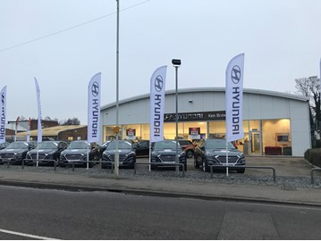 Ken Brown Motors' new Hyundai Motor UK dealership in Letchworth