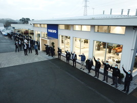 Ray Chapman Motors Malton celebrates its Volvo Car UK Retailer of the Year 2020 award