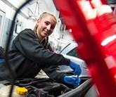 Rebecca Brown, Apprentice Technician at Lookers Vauxhall Selly Oak, Birmingham