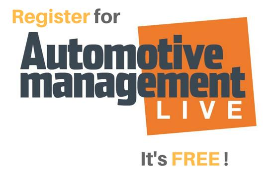 Automotive Management Live 2017 register image