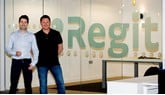 Regit chief executive Terry Hogan and chief revenue officer Chris Green