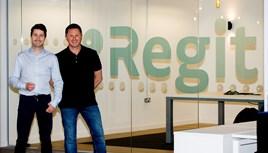 Regit chief executive Terry Hogan and chief revenue officer Chris Green